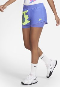 Nike Performance - SLAM SHORT - kurze Sporthose - sapphire/hot lime - 0