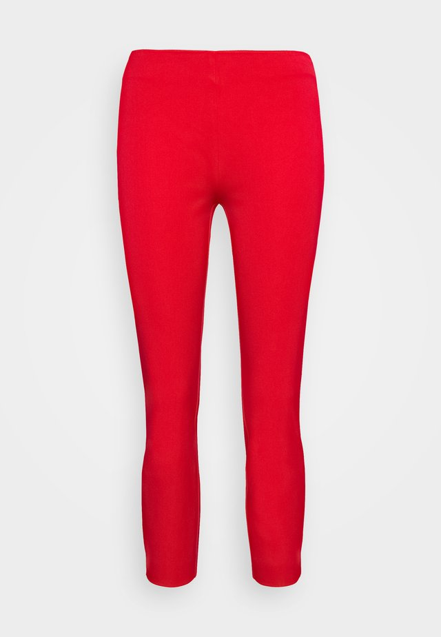 PANT - Leggings - Trousers - orient red