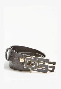 Guess - TRIPLE G-LOGO - Belt - schwarz - 0