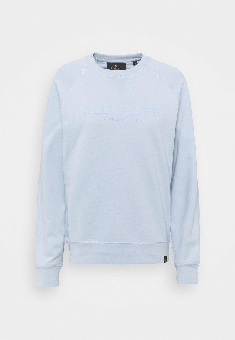 Belstaff - ENGLAND RAGLAN - Sweatshirt - chalk blue