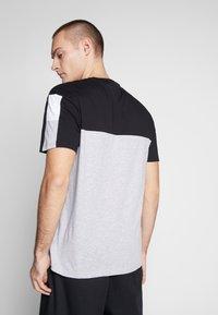 Nominal - DARA - Print T-shirt - heather grey - 2
