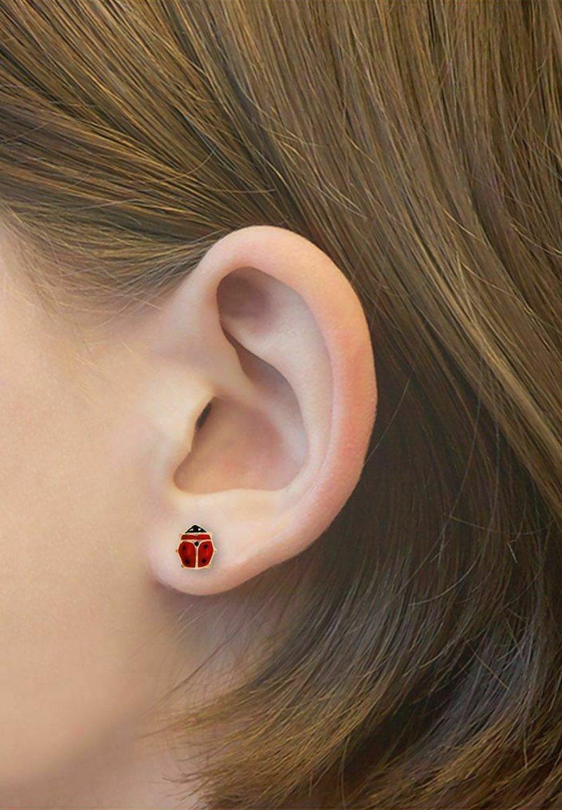 amor - Earrings - rot