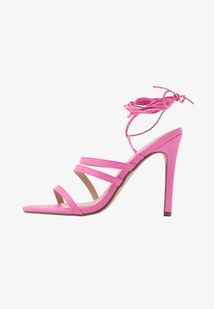 HARTLEY - High heeled sandals - pink