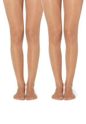 2 PACK  - Tights - nude