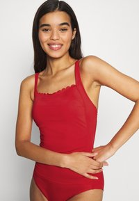 LASCANA - SWIMSUIT - Swimsuit - red - 3