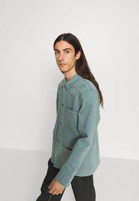 Edwin - FEDERAL JACKET UNISEX - Jakna iz džinsa - turquoise - 6