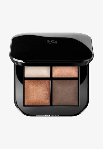 BRIGHT QUARTET BAKED EYESHADOW PALETTE - Eyeshadow palette - 01 warm natural tones