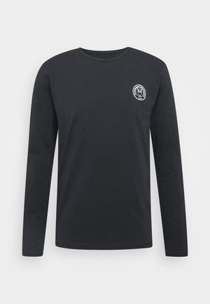 LOCUST BIG BACK PRINT LONG SLEEVE - Long sleeved top - dark blue