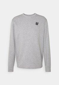 EXHIBIT - Long sleeved top - grey marl