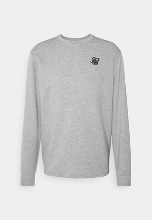 EXHIBIT - Long sleeved top - grey marl