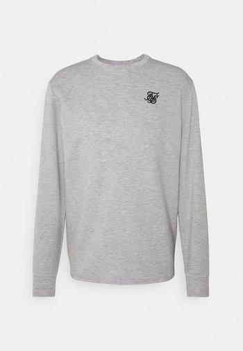 EXHIBIT - Maglietta a manica lunga - grey marl