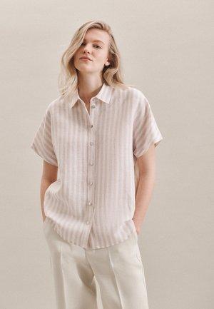 FASHION - Button-down blouse - braun