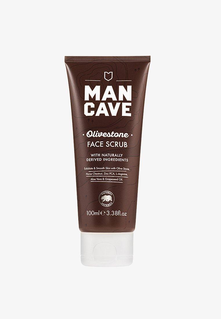 Man Cave - OLIVESTONE FACE SCRUB 100ML - Face scrub - neutral