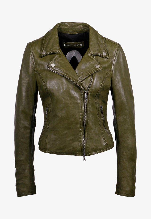 BALI - Leather jacket - uniform