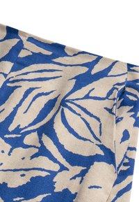 OYSHO - TROPICAL  - A-line skirt - blue - 5