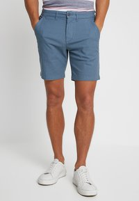 Selected Homme - SLHSTRAIGHT CHRIS - Shorts - blue shadow - 0