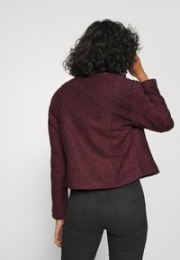 ONLY - ONLTIPPIE MAYA SHORT ZIP JACKET - Blazer - port royale/black - 2