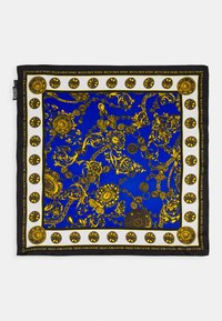 Versace Jeans Couture - REGALIA BAROQUE SCARF UNISEX - Foulard - midnight/gold-coloured - 3