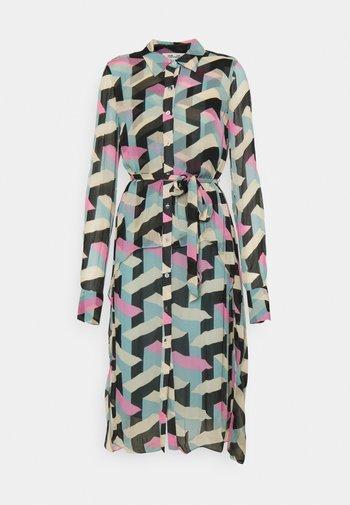 DANA - Shirt dress - multicolor