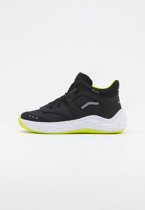 BOUNCE - Zapatillas altas - schwarz/gelb
