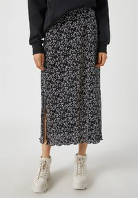 PULL&BEAR - A-line skirt - black - 0