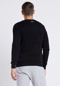 Fila - LIAM CREW - Sweatshirts - black - 2
