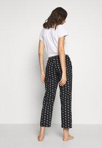 Calvin Klein Underwear - CK ONE WOVENS COTTON SLEEP PANT - Pyjamasbukse - black - 2