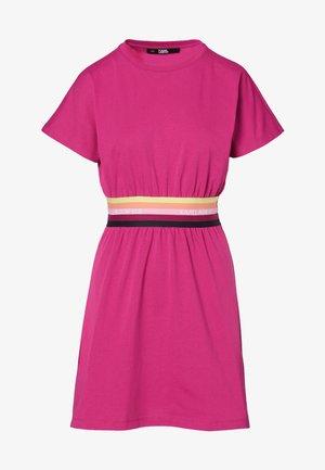 Jersey dress - fuchisa