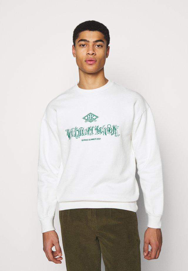 ARTWORK CREW - Sweatshirts - offwhite