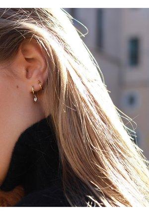 HEART HOOPS  - Earrings - oro