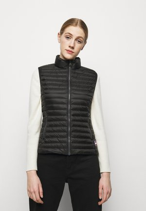 LADIES - Waistcoat - black/light steel