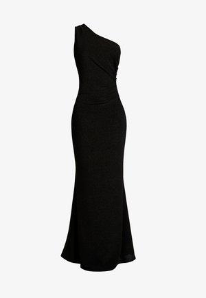 OFF THE SHOULDER LONG - Vestido de fiesta - black