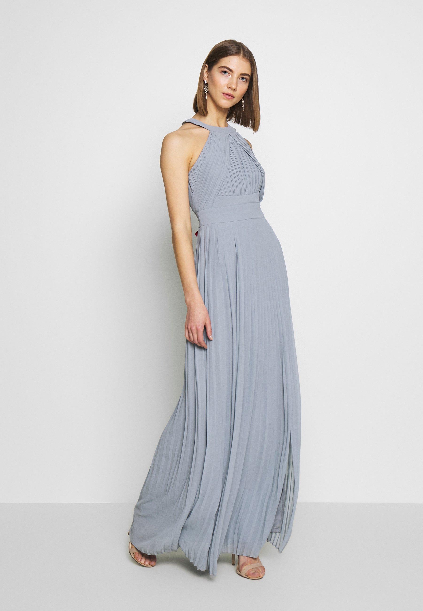 prague maxi - ballkleid - light blue