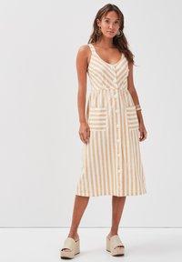 Cache Cache - Shirt dress - white - 1