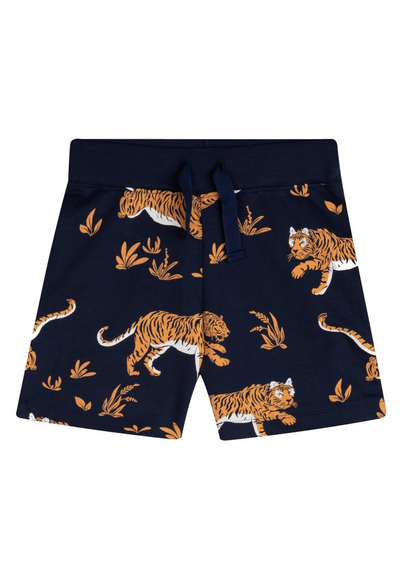 The Striped Cat - Shorts - navy