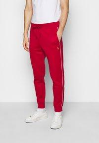 Polo Ralph Lauren - LUX TRACK - Pantalones deportivos - red - 0