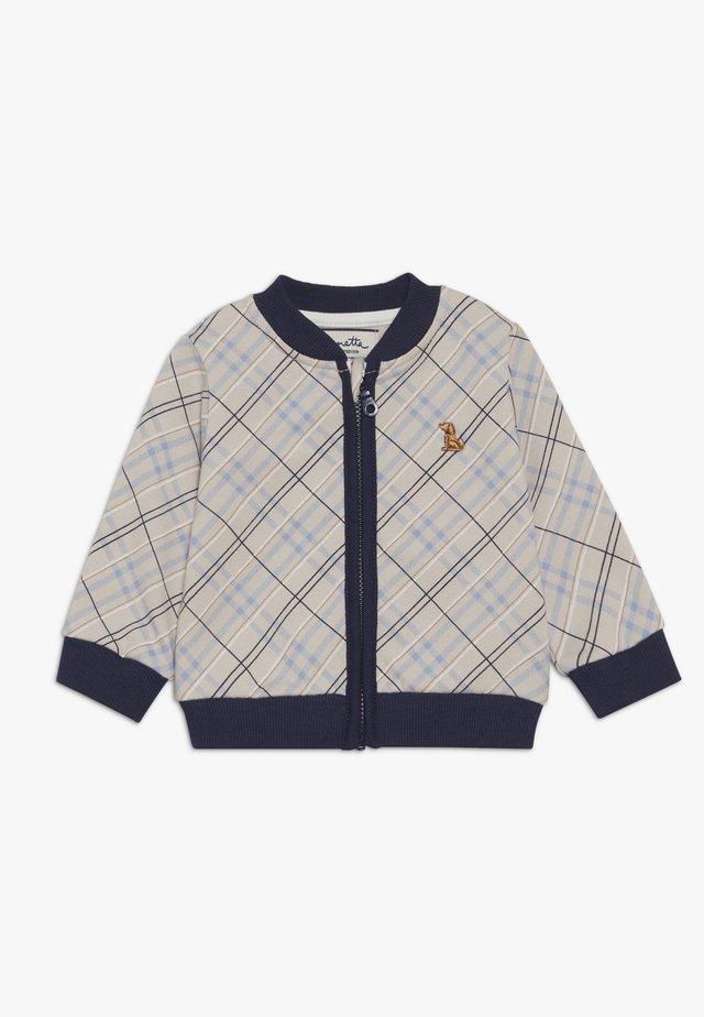 JACKET BABY - veste en sweat zippée - grey