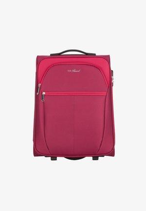 VIP KOLLEKTION - Wheeled suitcase - rot