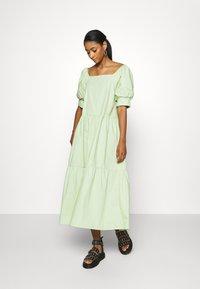 EDITED - JILL DRESS - Day dress - foam green - 0