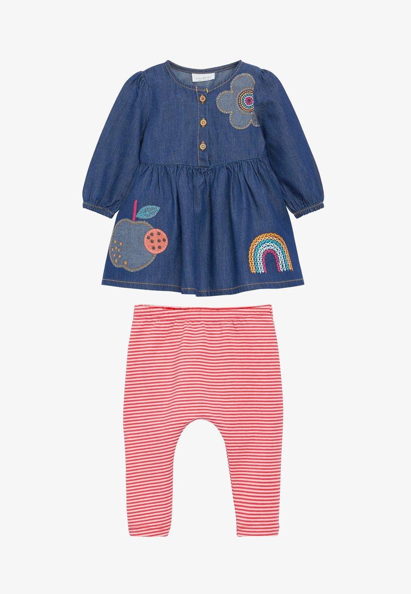 Next - SET - Leggings - Trousers - blue denim