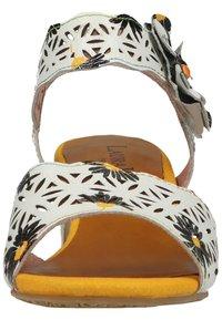 LAURA VITA - Sandals - blanc - 6