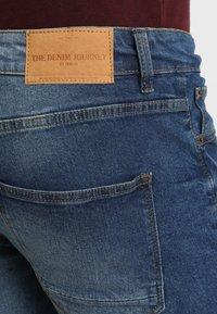 Solid - RYDER - Straight leg jeans - blue denim - 4
