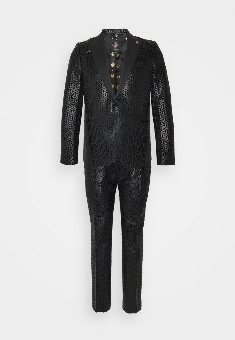 Twisted Tailor - CHAKA SUIT PLUS - Suit - black