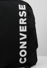 Converse - SPEED BACKPACK - Rucksack - black - 5