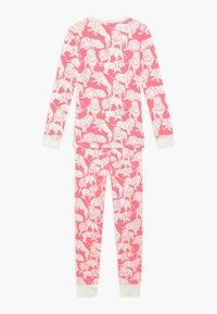 J.CREW - SLEEP TIGER - Pyjama set - neon pink ivory - 1