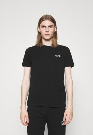 CREWNECK - Tričko s potlačou - black