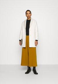 Sisley - COAT - Cappotto classico - offwhite - 1