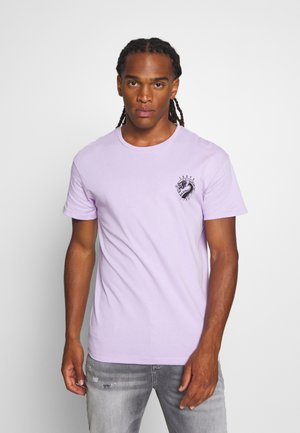 JORSUMIRE TEE CREW NECK - T-shirt imprimé - lavendula