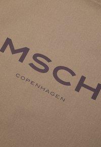 Moss Copenhagen - LOGO SHOPPER - Tote bag - dune/roast - 3