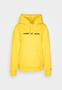 Tommy Jeans - LINEAR LOGO - Hoodie - star fruit yellow - 0